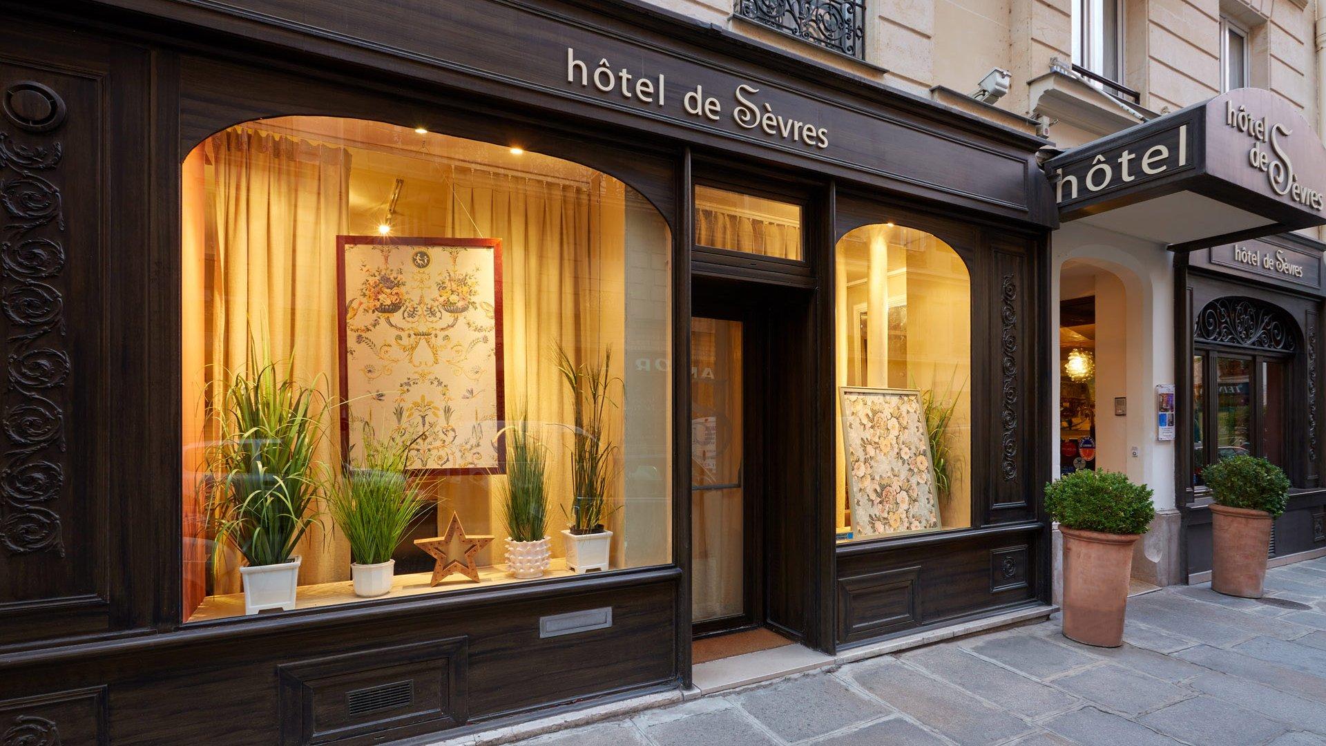 Hotel de Sèvres - Site officiel | Quartier Saint Germain - Paris on