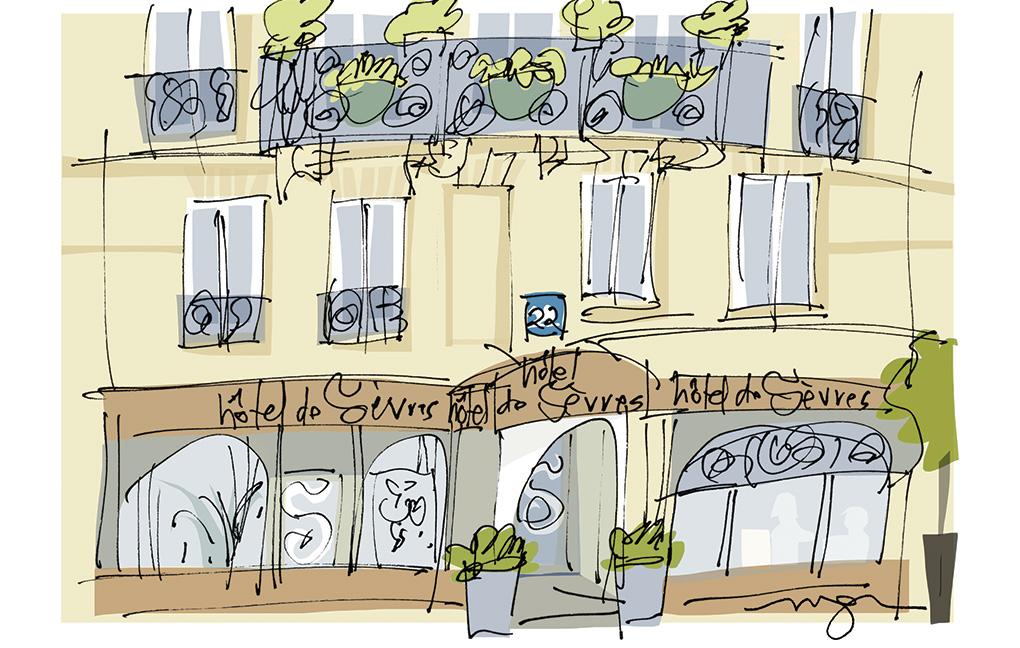 Hotel De Sevres Rue De L Abbe Gregoire