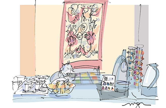 Hotel de Sevres - Salon