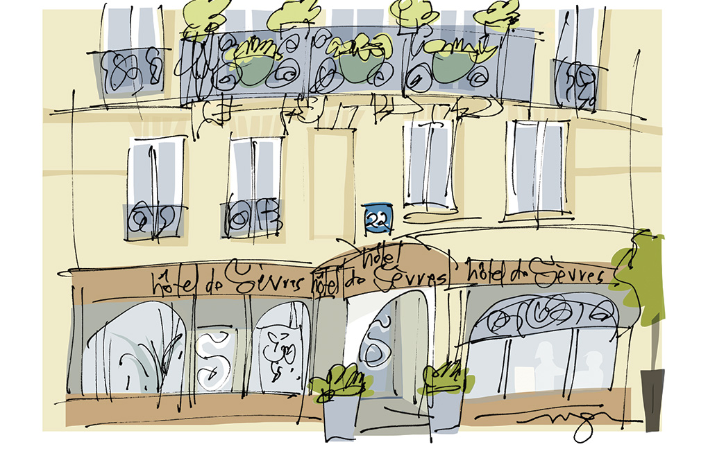 Hotel de Sevres - Contact et acces